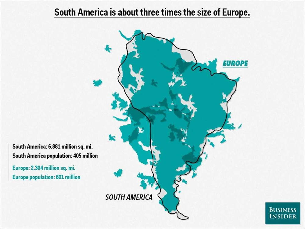 Map Overlays South America