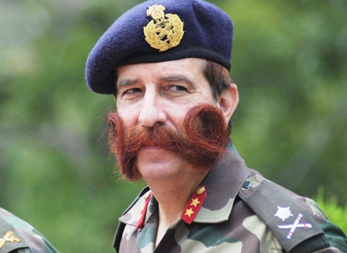 Mustache Order In British Military