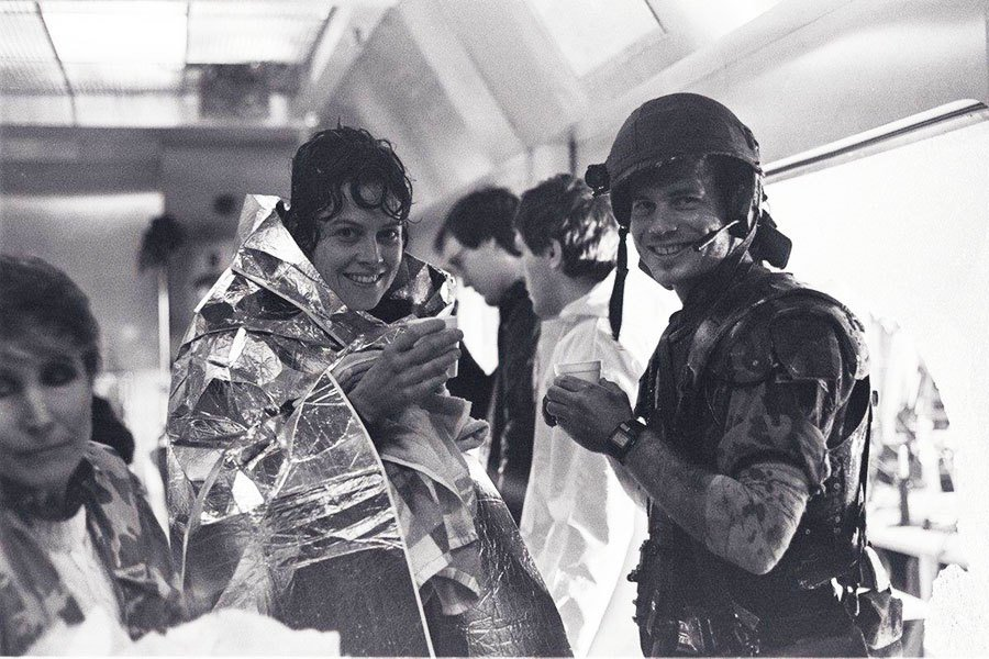 Filming Of Aliens