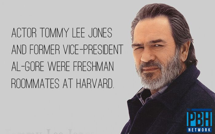 Tommy Lee Jones And Al Gore College Roommates