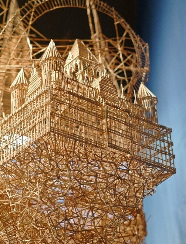 Toothpick Art Sculpture San Francisco