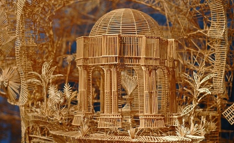 Scott Weaver Toothpick Art