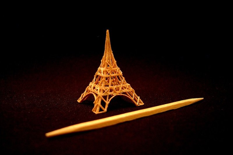 Miniature Toothpick Art