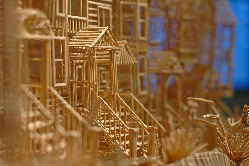 Toothpick Artist Scott Weaver