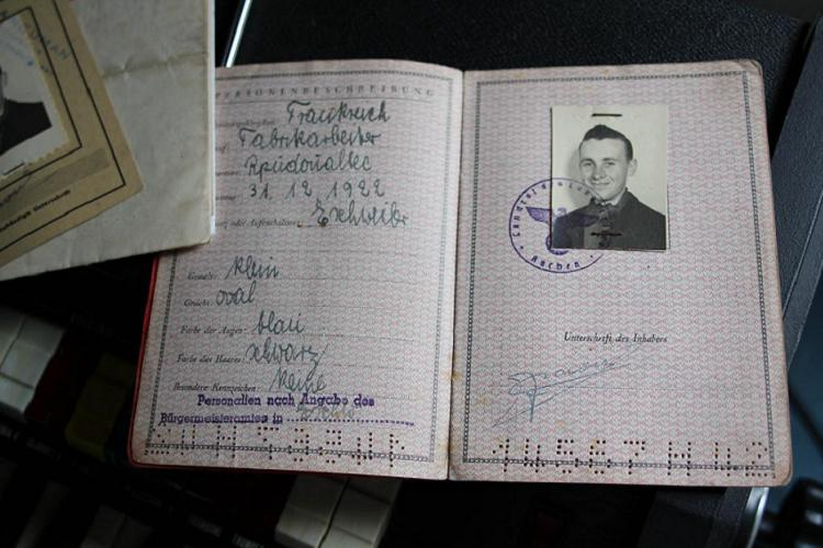 True Conspiracies German Passport