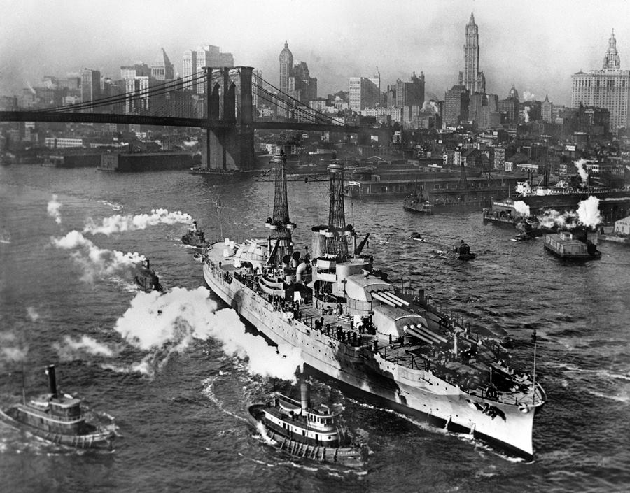 USS Arizona 1916