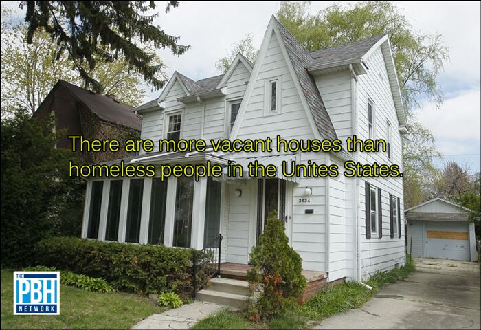 Vacant Houses And The Homeless Population In America