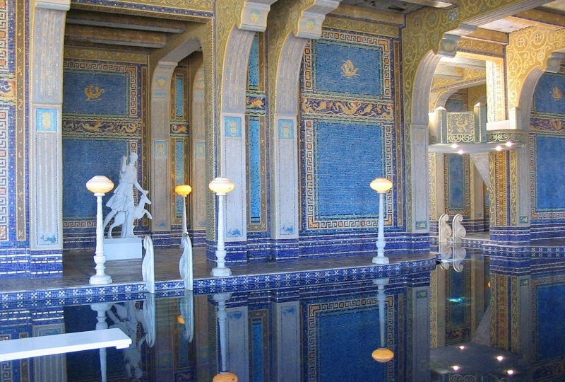 Pool at Hearst Castle
