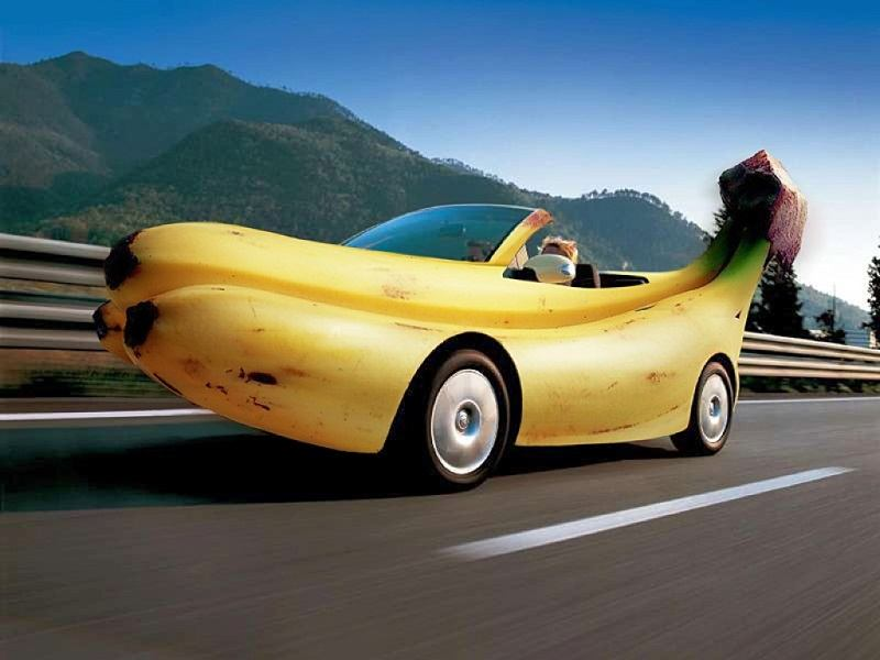 Awesome Banana Car