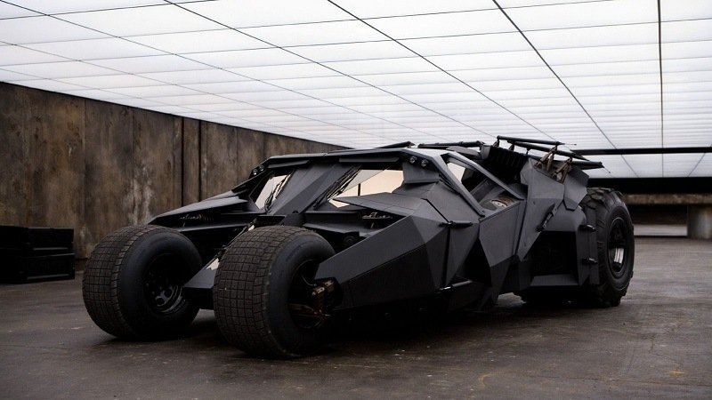 Batman's Real Life Batmobile