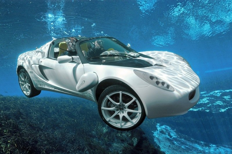 World's First Underwater Car