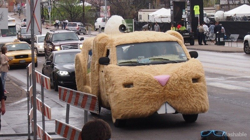 Weird TaskRabbit Car