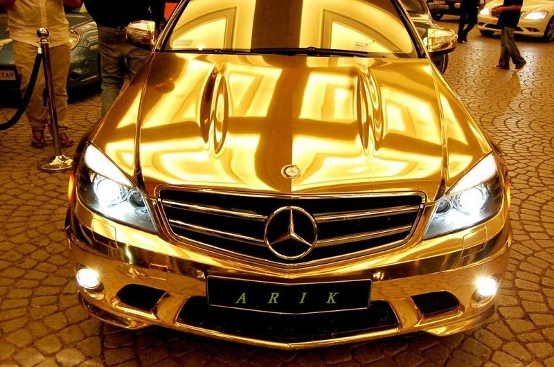 Gold-Plated Weird Cars