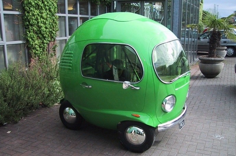 Weird Cars Pea Car