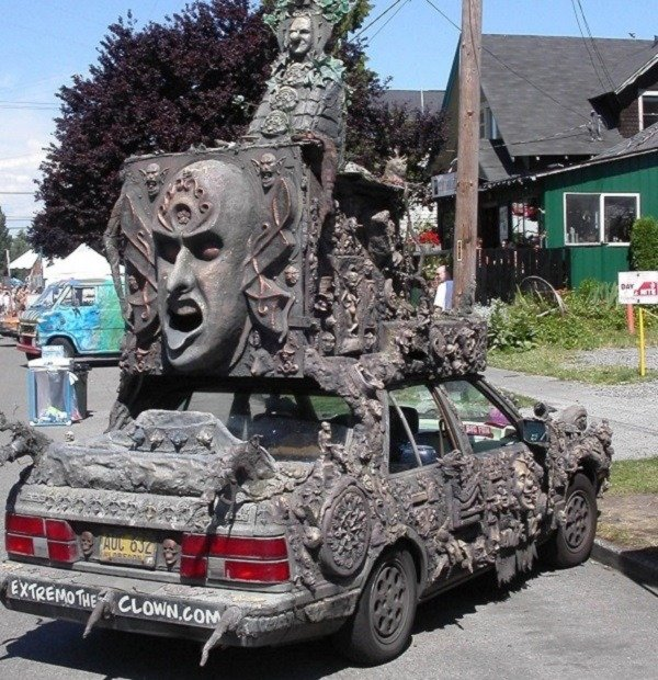 Scary And Weird Car