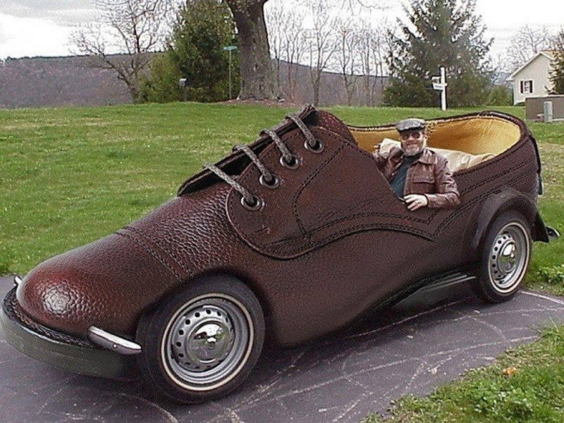 Weird Car Looks Like Shoe