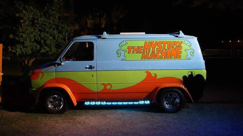 Scooby Doo Real Life Mystery Machine