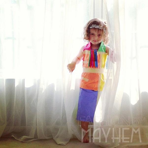 4-Year-Old Mayhem's First Design