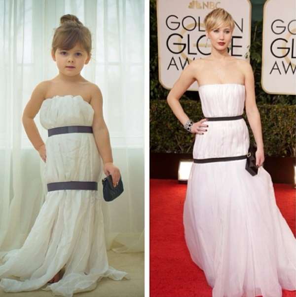 FashionbyMayhem as Jennifer Lawrence
