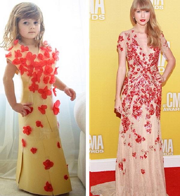 4-Year-Old Mayhem Fashion Designer