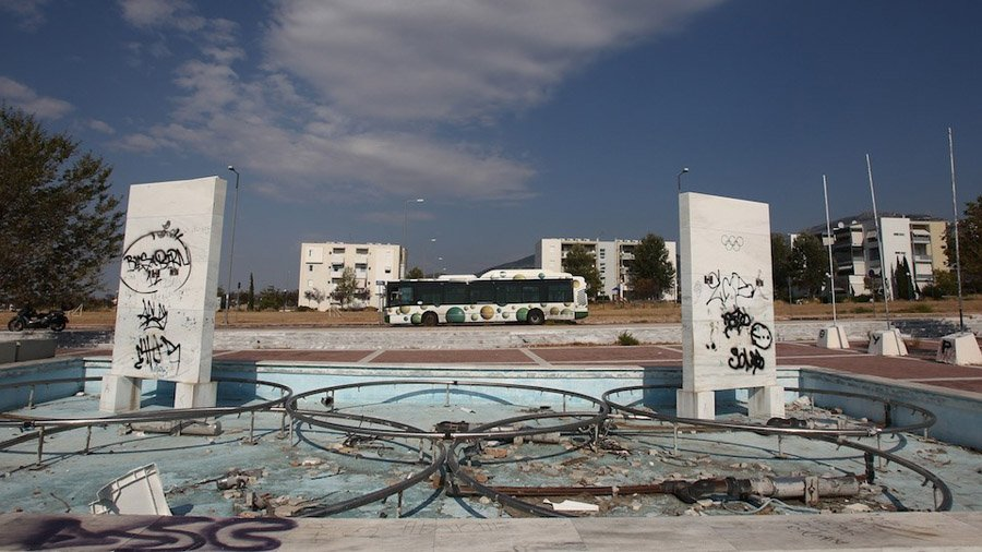 Abandoned Olympic Sites Athens Rings