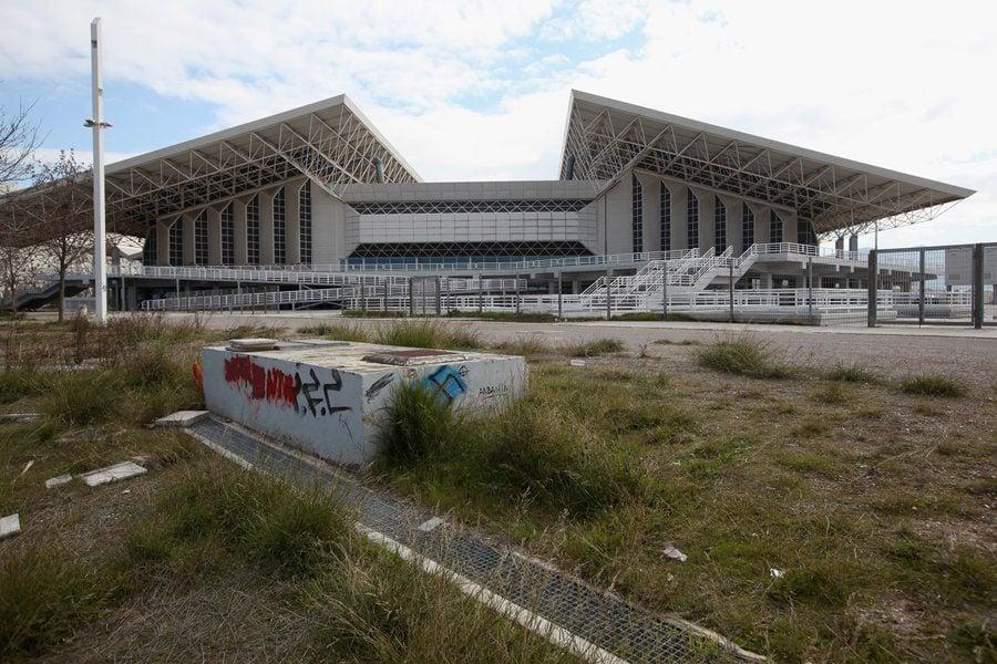 Abandoned Olympic Sites Athens Stadium