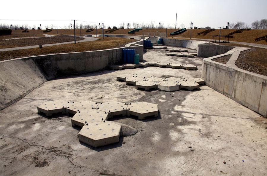 Abandoned Olympics Beijing Kayak Venue