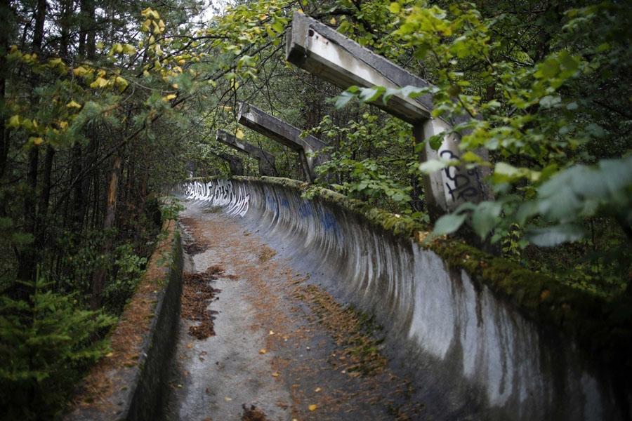 Abandoned Olympics Sarajevo Bobsleigh