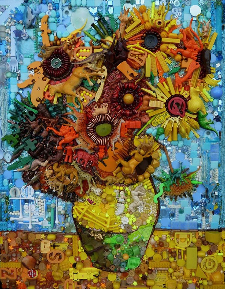 Jane Perkins Sunflowers