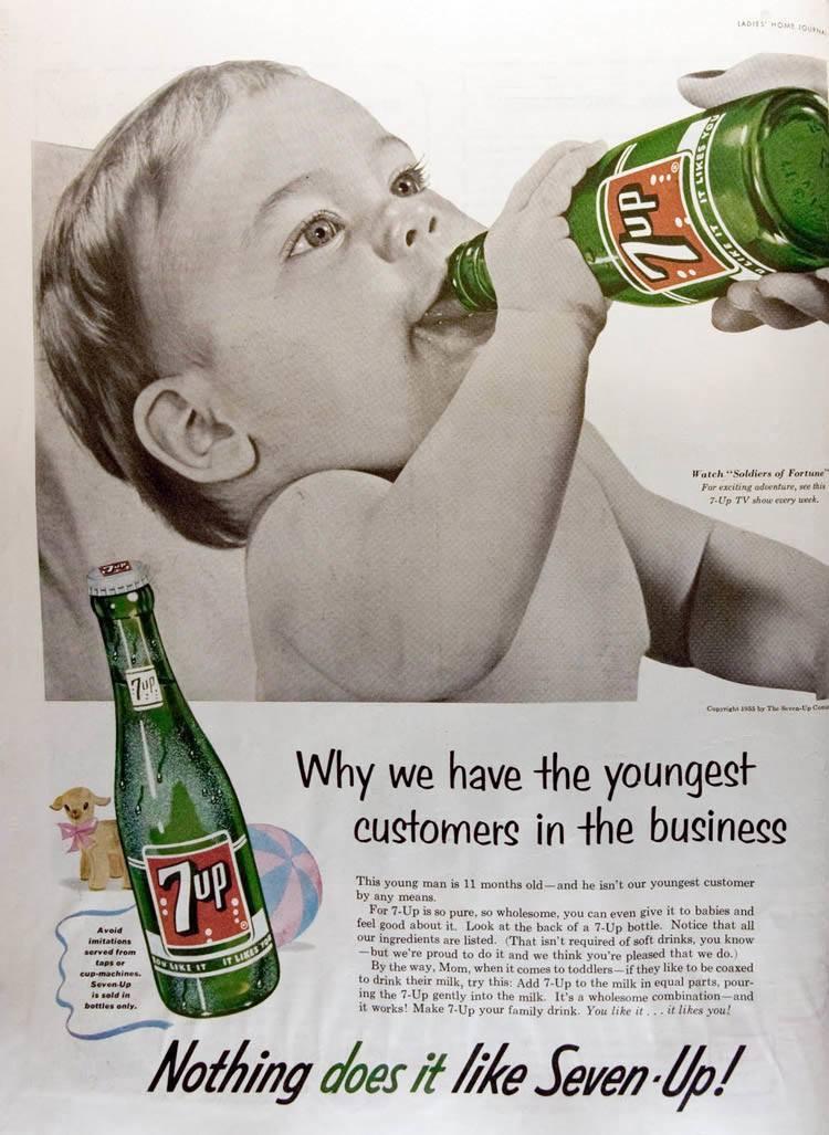Vintage Ads 7 Up