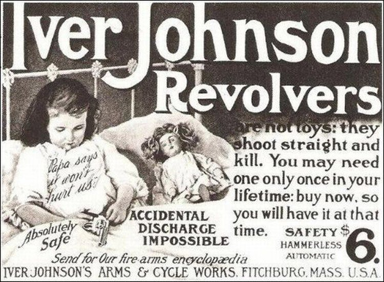 Revolver Old Advertisement