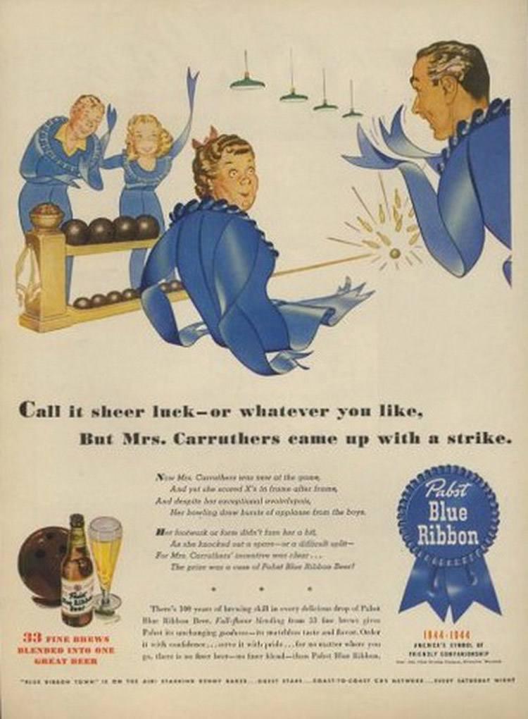 Bizarre Vintage Ads Pabst