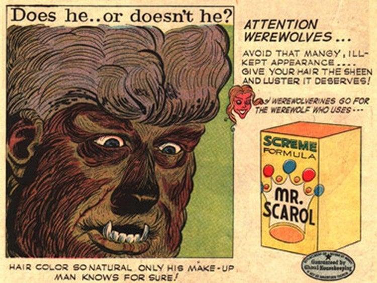 Bizarre Ads Werewolf