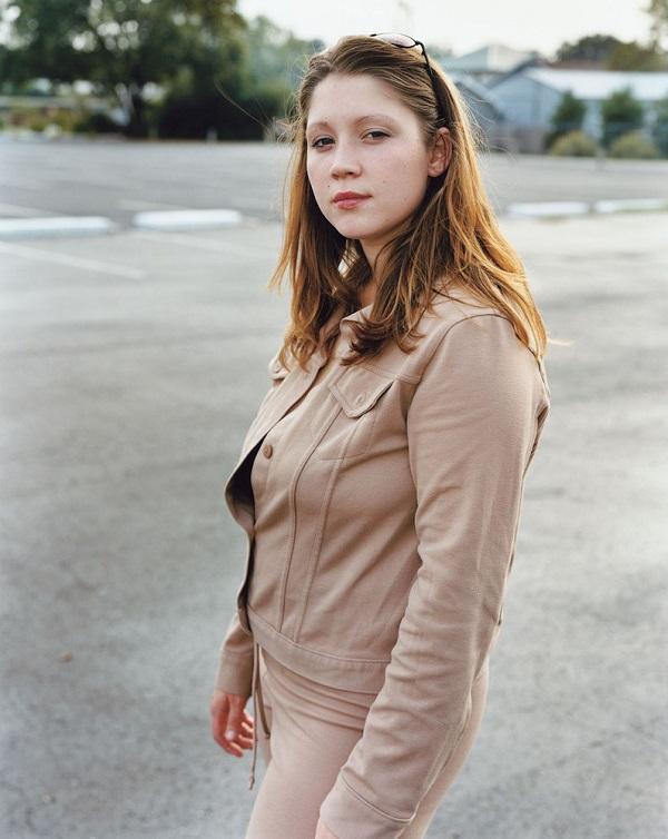 Violet Warren Poses for Dana Lixenberg