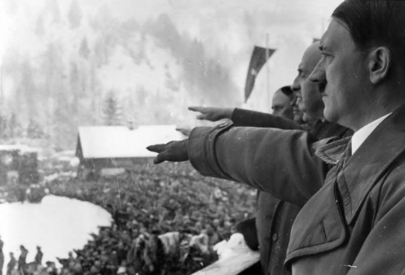 First Winter Olympics Hitler