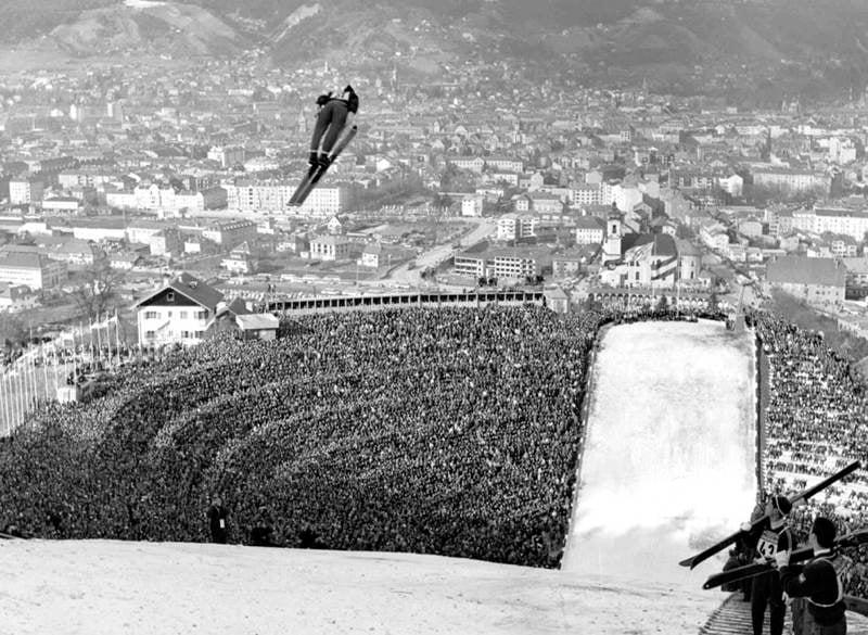 First Winter Olympics Ski