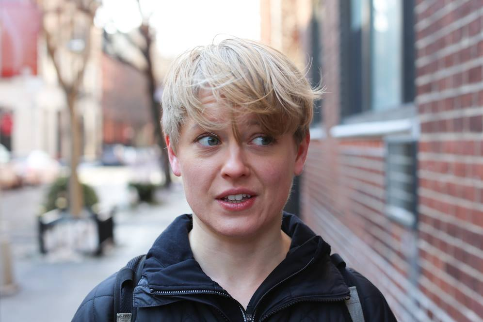 Humans Of New York Blonde Woman