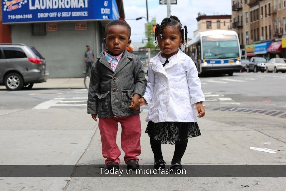Microfashion In Harlem