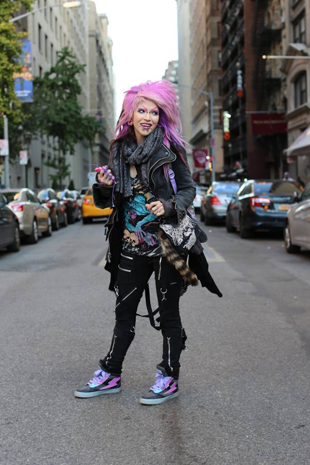 Humans Of New York Pink Hair