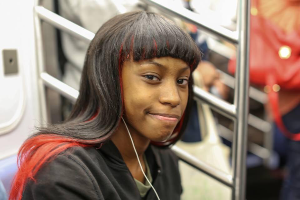 Humans Of New York Train Girl
