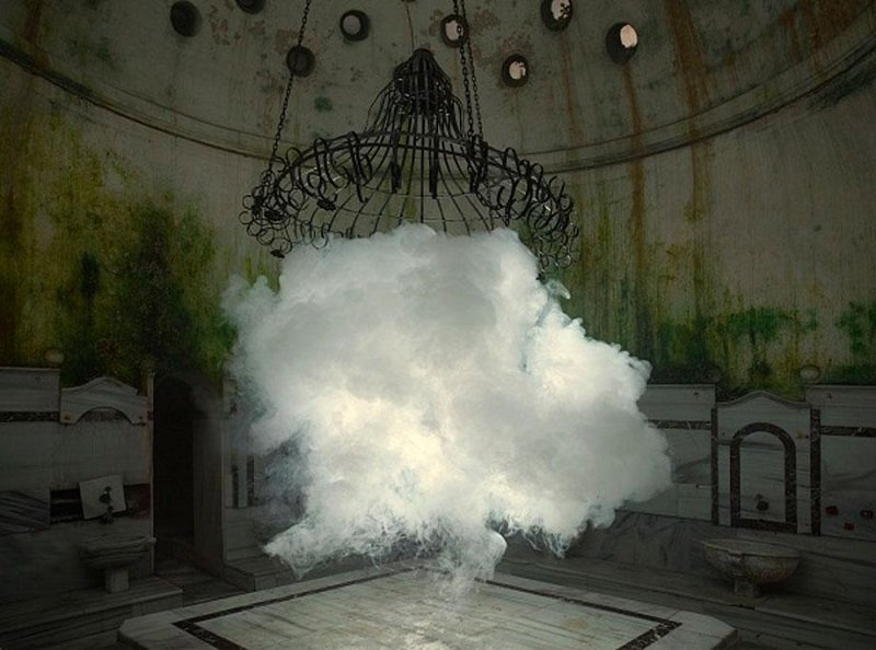 Clouds Created Indoors by Berndnaut Smilde