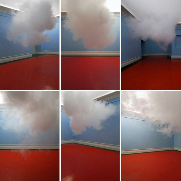 First Indoor Cloud Installation