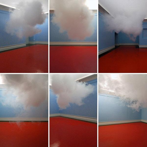 First Indoor Cloud Installation