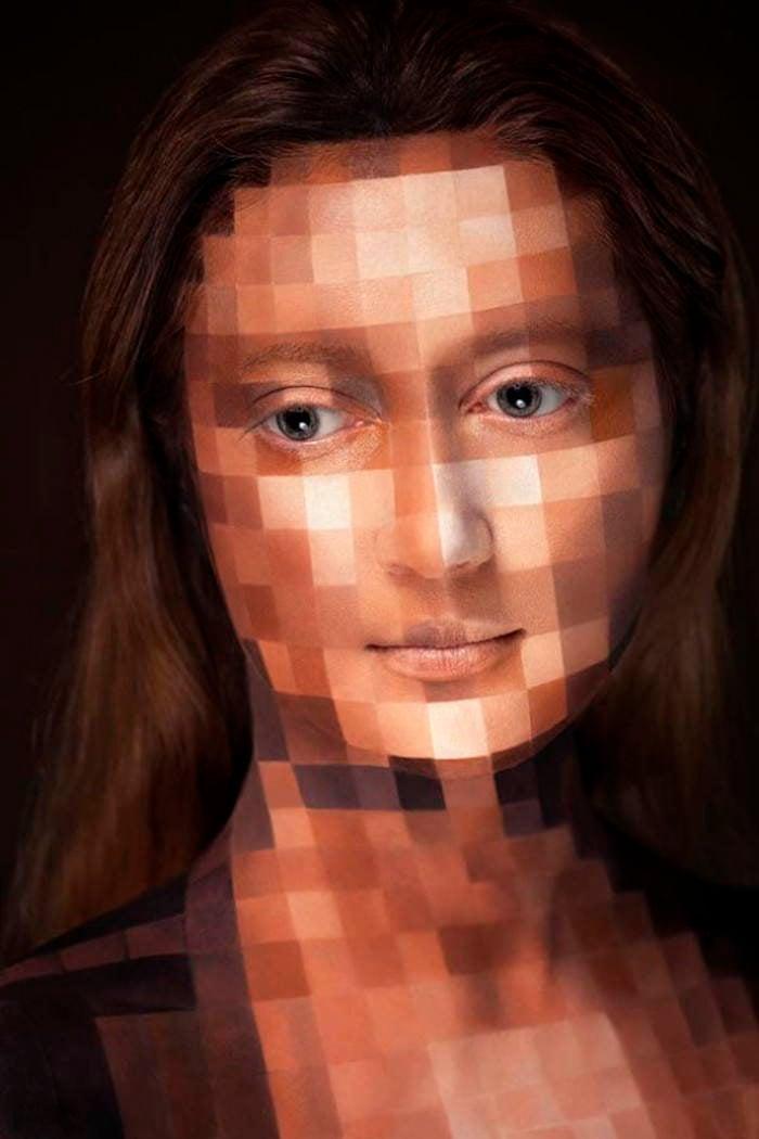 2D Mona Lisa