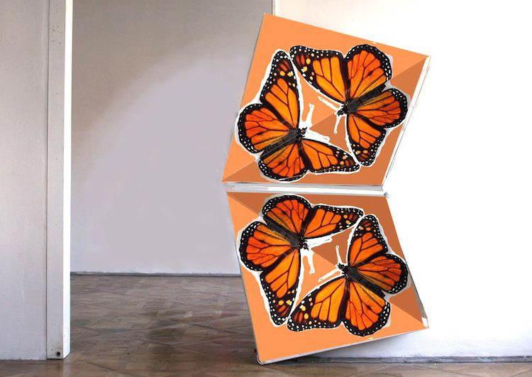 Klemens Torggler Butterfly Door