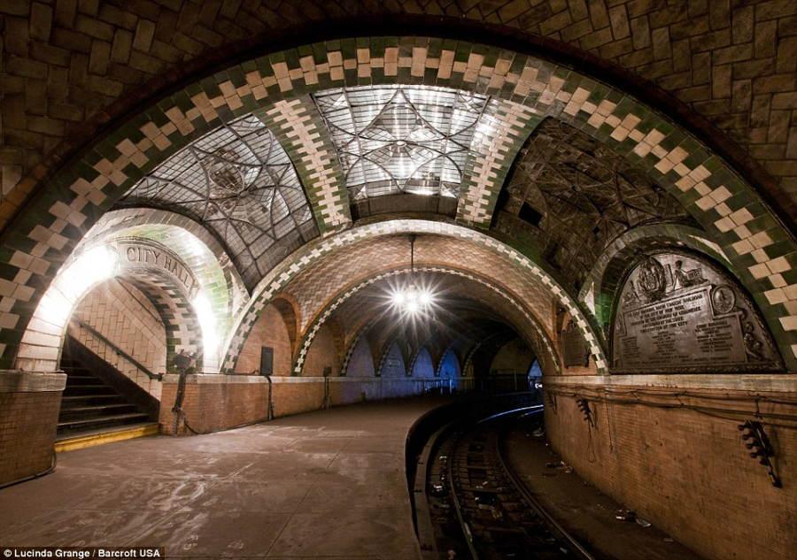 Lucinda Grange Disused Subway New York