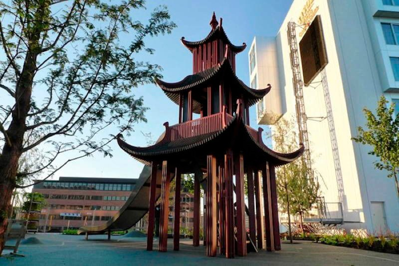 Monstrum Playgrounds Chinese Pagoda