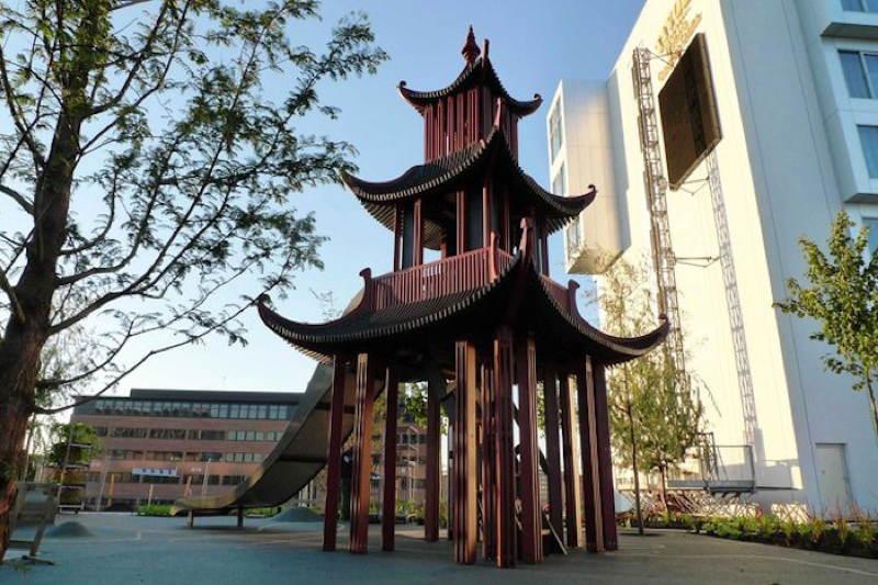 Monstrum Playgrounds Chinese Pagoda
