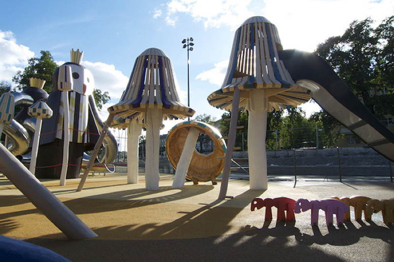 Monstrum Playgrounds Mushroom Kingdom