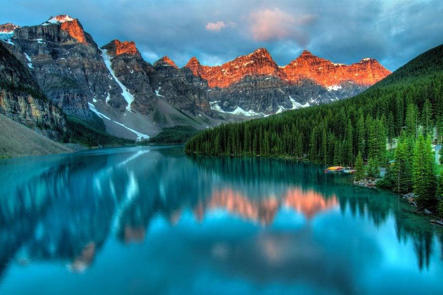 Unbelievable Places Moraine Lake Sunrise